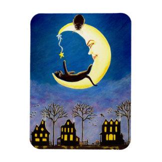"""Estrella de Halloween imán """"Salem """""""