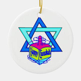 Estrella de Jánuca de David Ornamentos De Navidad