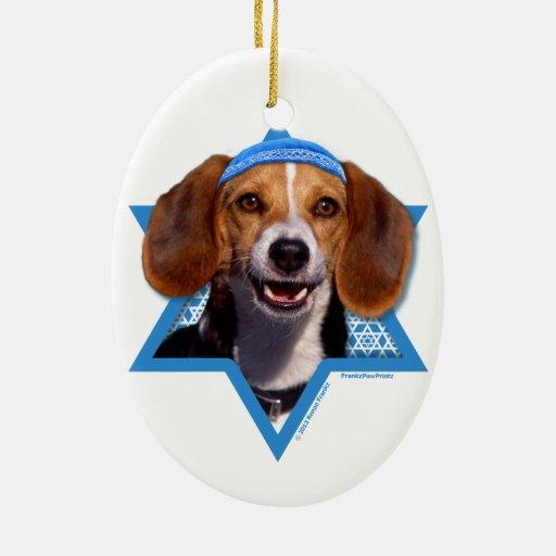 Estrella de Jánuca de David - beagle Ornamentos De Reyes