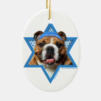 Estrella de Jánuca de David - dogo Ornamentos Para Reyes Magos
