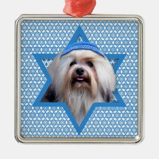 Estrella de Jánuca de David - Lowchen Ornamento Para Reyes Magos