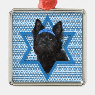 Estrella de Jánuca de David - mojón Terrier Roscoe Ornaments Para Arbol De Navidad