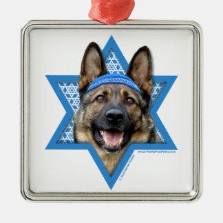 Estrella de Jánuca de David - pastor alemán Ornatos