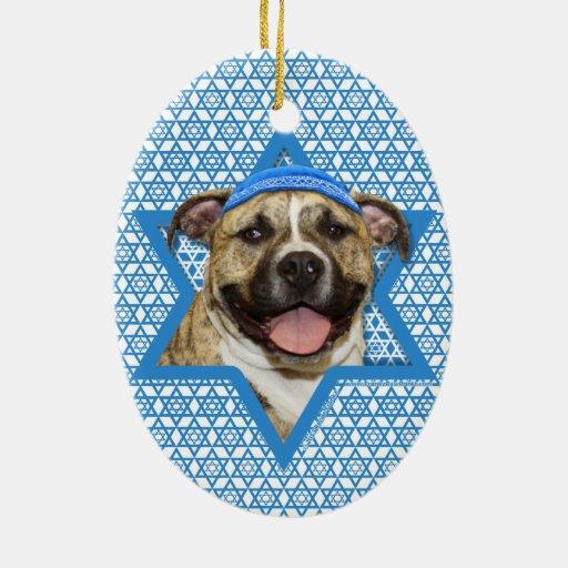 Estrella de Jánuca de David - Pitbull - Tigger Ornamente De Reyes