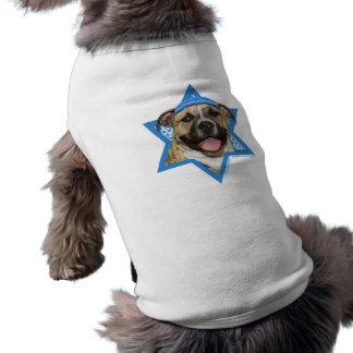 Estrella de Jánuca de David - Pitbull - Tigger Camisa De Perrito