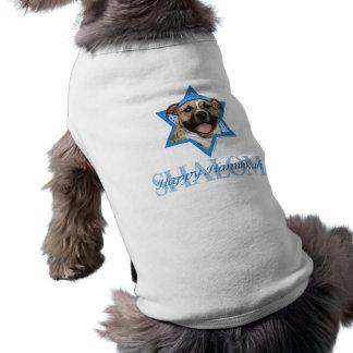 Estrella de Jánuca de David - Pitbull - Tigger Camisetas De Mascota