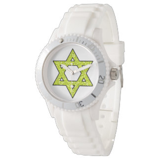 Estrella de Jánuca del reloj de David