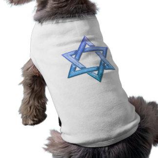 Estrella de la camisa del mascota de David