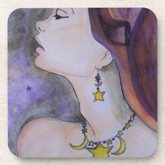 Estrella de la luz de la estrella brillante posavasos