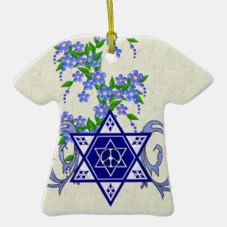 Estrella de la paz de Jánuca Adornos De Navidad