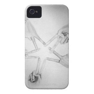 Estrella de la paz iPhone 4 Case-Mate carcasas