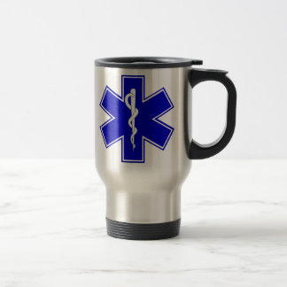 Estrella de la vida taza de café