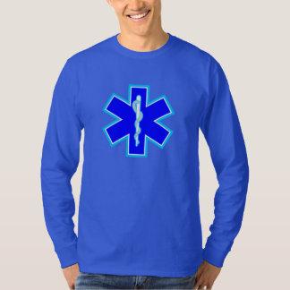 Estrella de los servicios médicos de la emergencia camisas