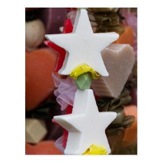 Estrella decorativa del navidad postal