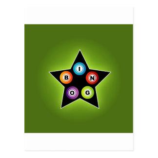 Estrella del bingo postal
