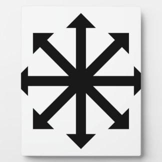 Estrella del caos placa expositora