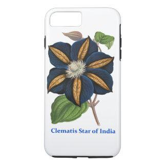 Estrella del Clematis de la India Funda iPhone 7 Plus