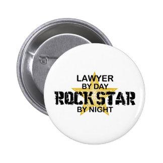 Estrella del rock del abogado por noche pin
