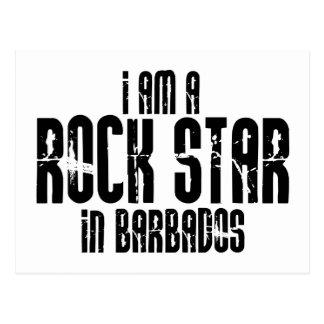Estrella del rock en Barbados Postal
