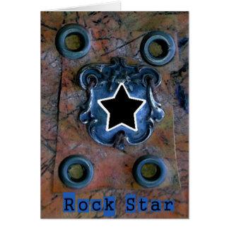Estrella del rock felicitaciones