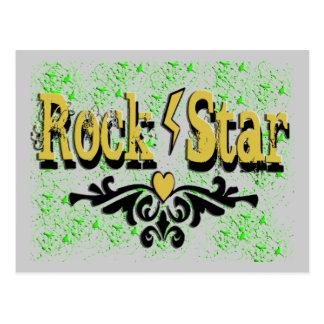 Estrella del rock postal