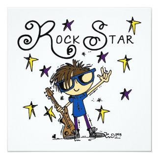 Estrella del rock triguena comunicado personalizado