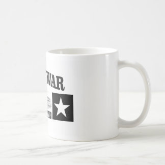 Estrella doble de la acémila del fuerte taza de café