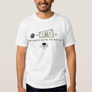 Estrella + Dólares = gente muda que paga Camisas