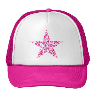 estrella floral gorras