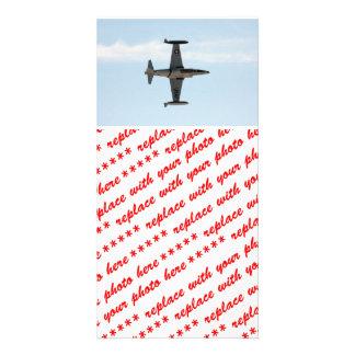 Estrella fugaz P-80 Tarjeta Fotografica Personalizada