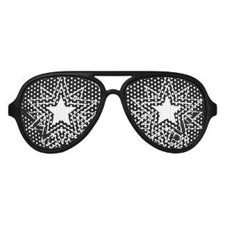 Estrella negra múltiple gafas de sol