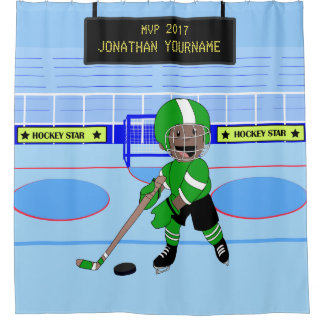 Estrella personalizada linda del hockey sobre