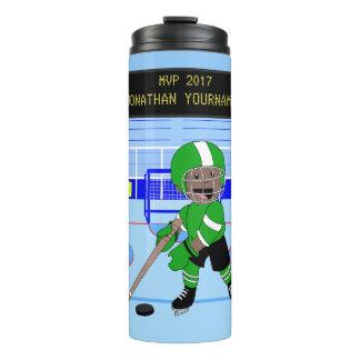 Estrella personalizada linda del hockey sobre termo térmico