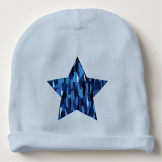 Estrella pintada gorrito para bebe