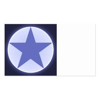estrella plantilla de tarjeta de negocio