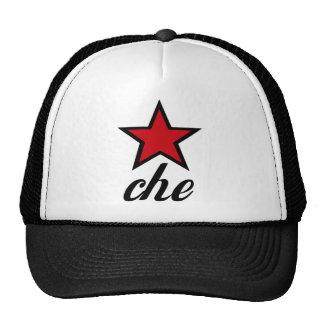 ¡Estrella roja Che Guevara! Gorras De Camionero