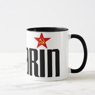 Estrella roja de Gagarin Taza