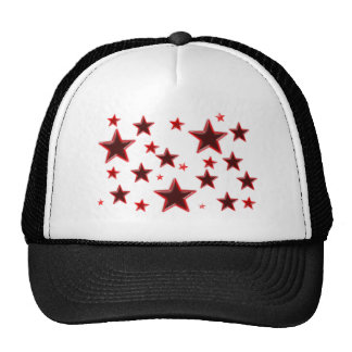 Estrella roja gorra