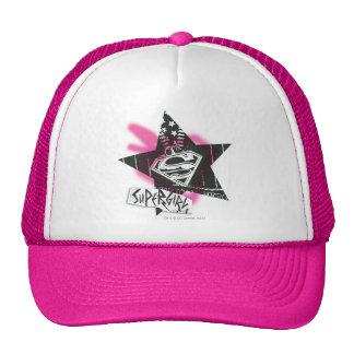 Estrella rosada de la pintura de aerosol de Superg Gorras