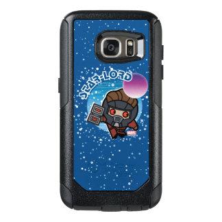 Estrella-Señor In Space de Kawaii Funda Otterbox Para Samsung Galaxy S7