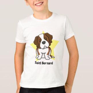 Estrella St Bernard de Kawaii Camiseta