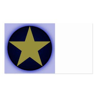 estrella plantillas de tarjeta de negocio