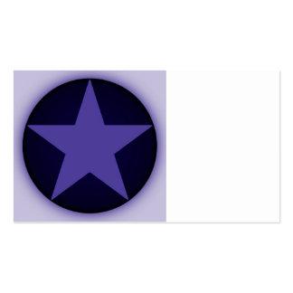 estrella tarjeta de visita