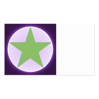 estrella tarjeta de negocio