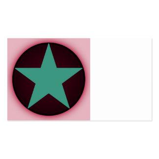 estrella tarjetas personales