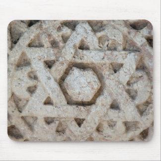 Estrella vieja de David que talla, Israel Alfombrilla De Ratón