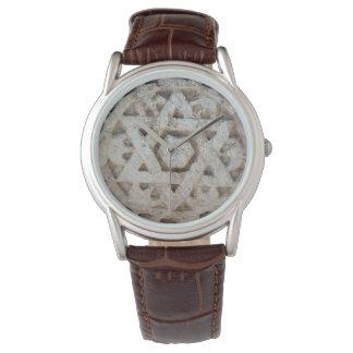 Estrella vieja de David que talla, Israel Reloj