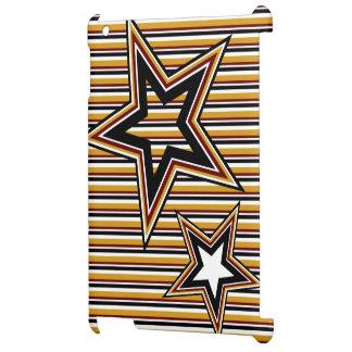 Estrella y rayas enrrolladas