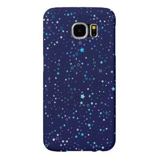 Estrellas azules 2 - caja de la galaxia s6 funda samsung galaxy s6