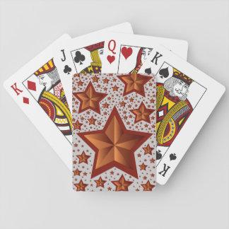 estrellas barajas de cartas